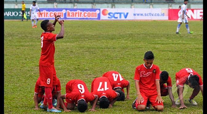 Timnas Indonesia U-16 vs Semen Padang Pra AFF 20   15