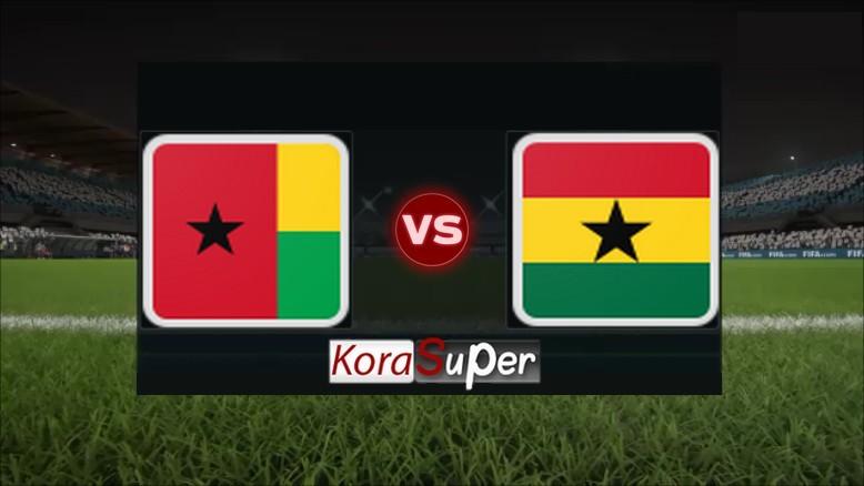 مشاهدة مباراة غانا وغينيا بيساو 02-07-2019
