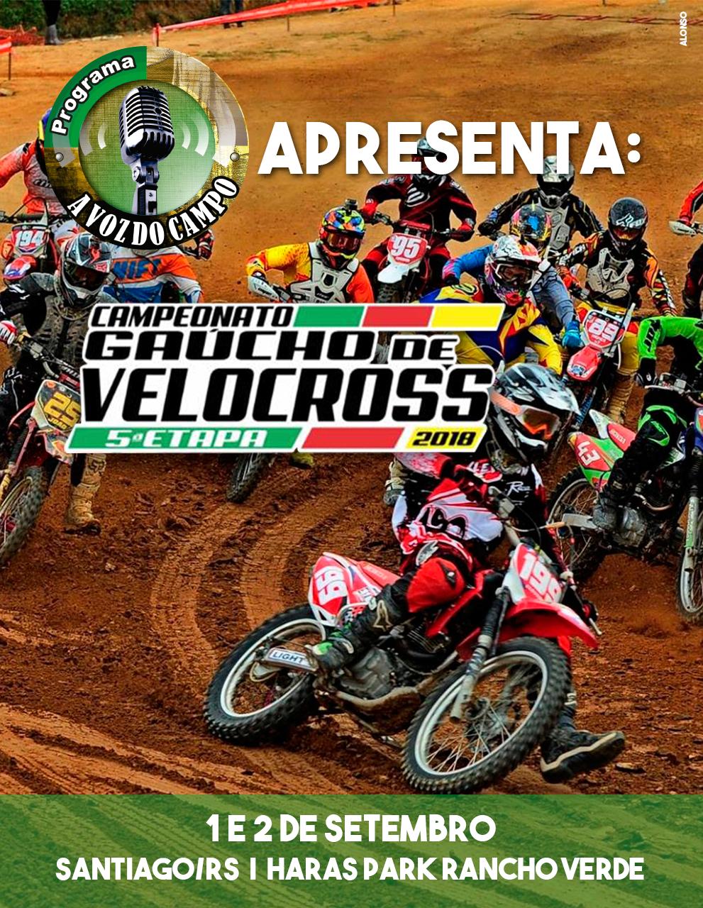 Campeonato de Velocross em Santiago