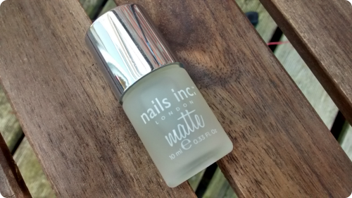 Nails inc. matte Top Coat