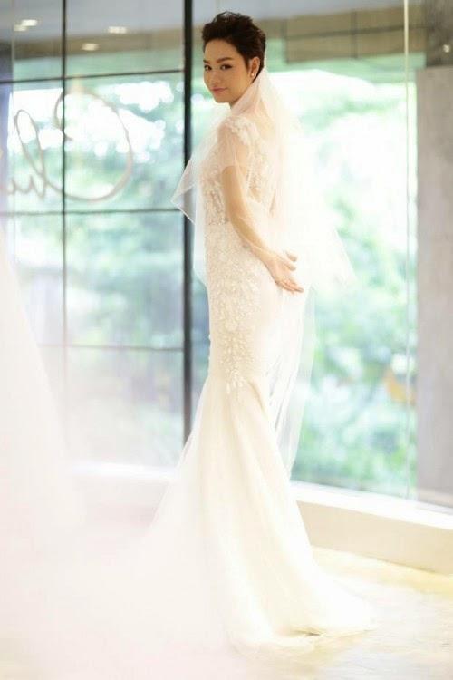 Chiếc Áo cưới 200 triệu của Trà My Idol