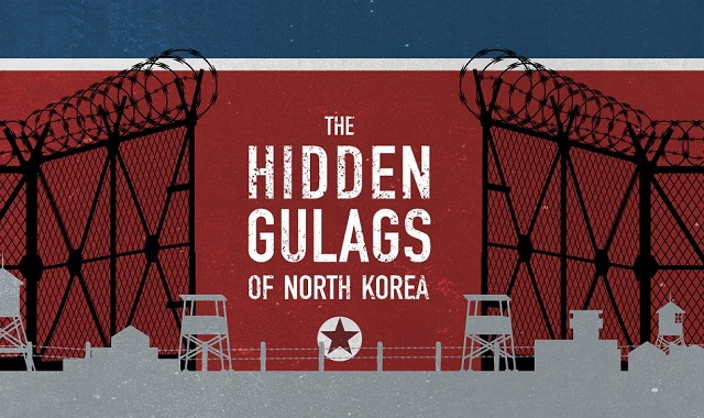 Image: The Hidden Gulags of North Korea #infographic