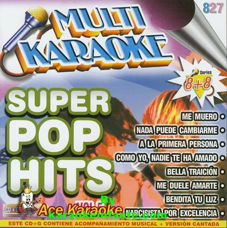 MultiKaraoke – Super Pop Hits CDG+MP3 320 Kbps