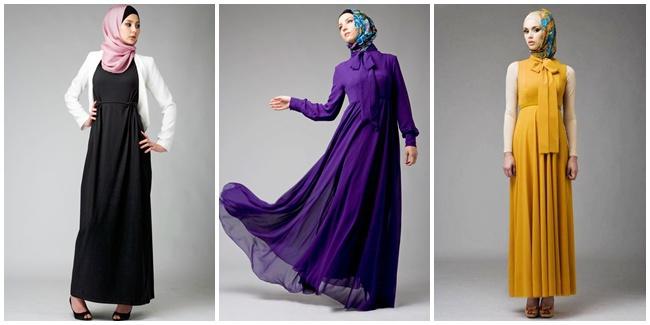 Dress Trendy Untuk Wanita Berhijab Ferrina Jaya Fashion