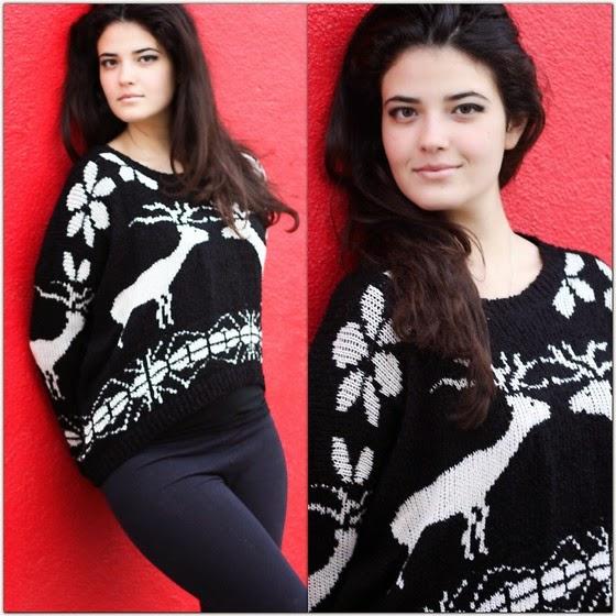 bozonarodzeniowy sweter