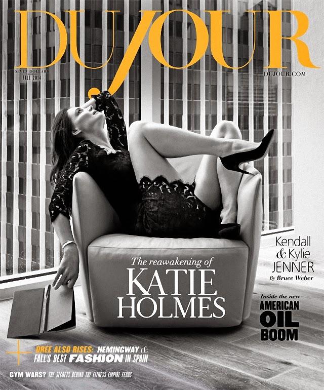 Katie Holmes en Dujour Magazine