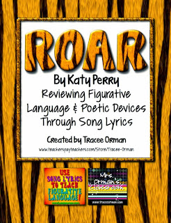 "Use Katy Perry's ""Roar"" to Review Figurative Language & Poetry Devices"