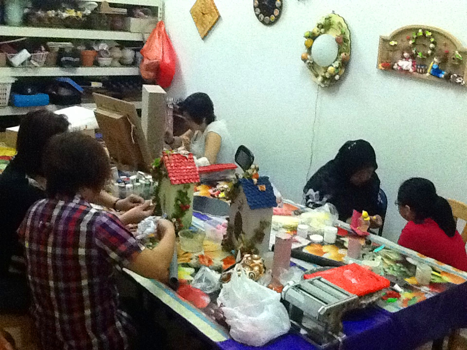 Clay art story creative clay art and clay crafts for Crafts classes for adults
