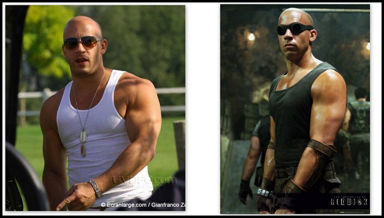 Vin diesel and his twin brother paul vincent html autos weblog