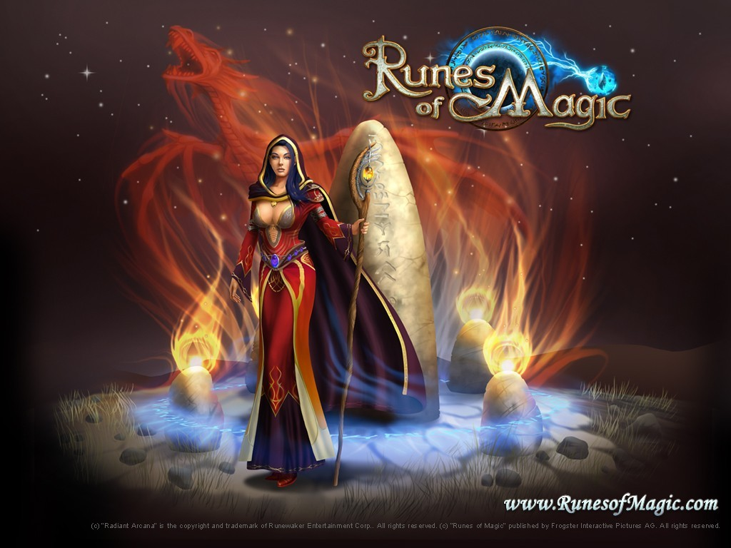 Runes of magic wallpaper