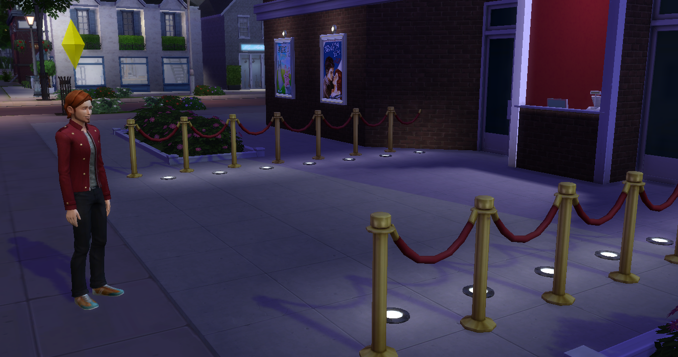 my sims 4 blog ts3 cinema stuff conversions by simsinthewoods