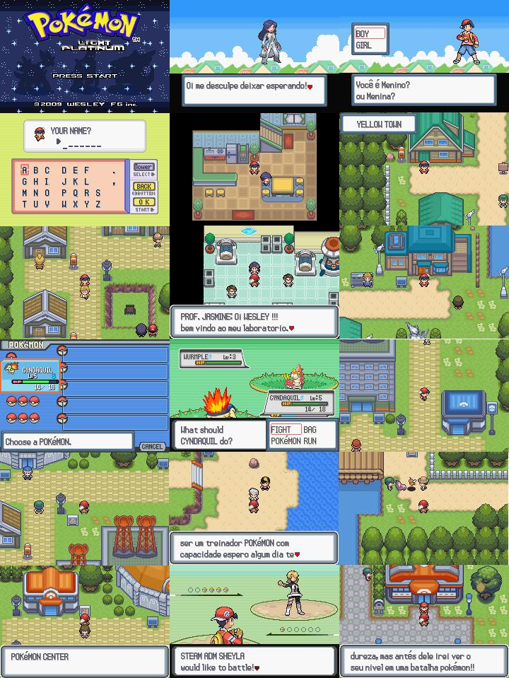 Pokemon light platinum nds rom free download