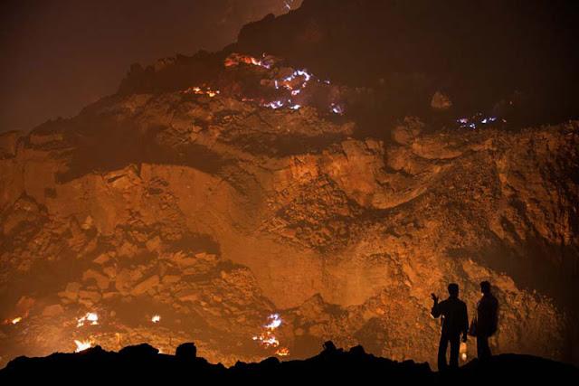 Jharia, um fogo subterrâneo que já dura cem anos