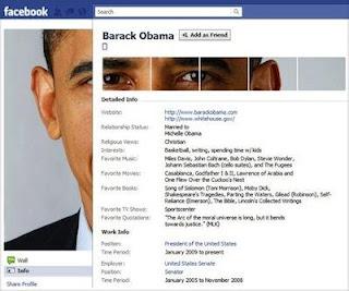 Barack Obama Facebook