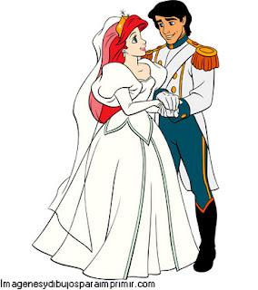 Ariel y el principe enamorados