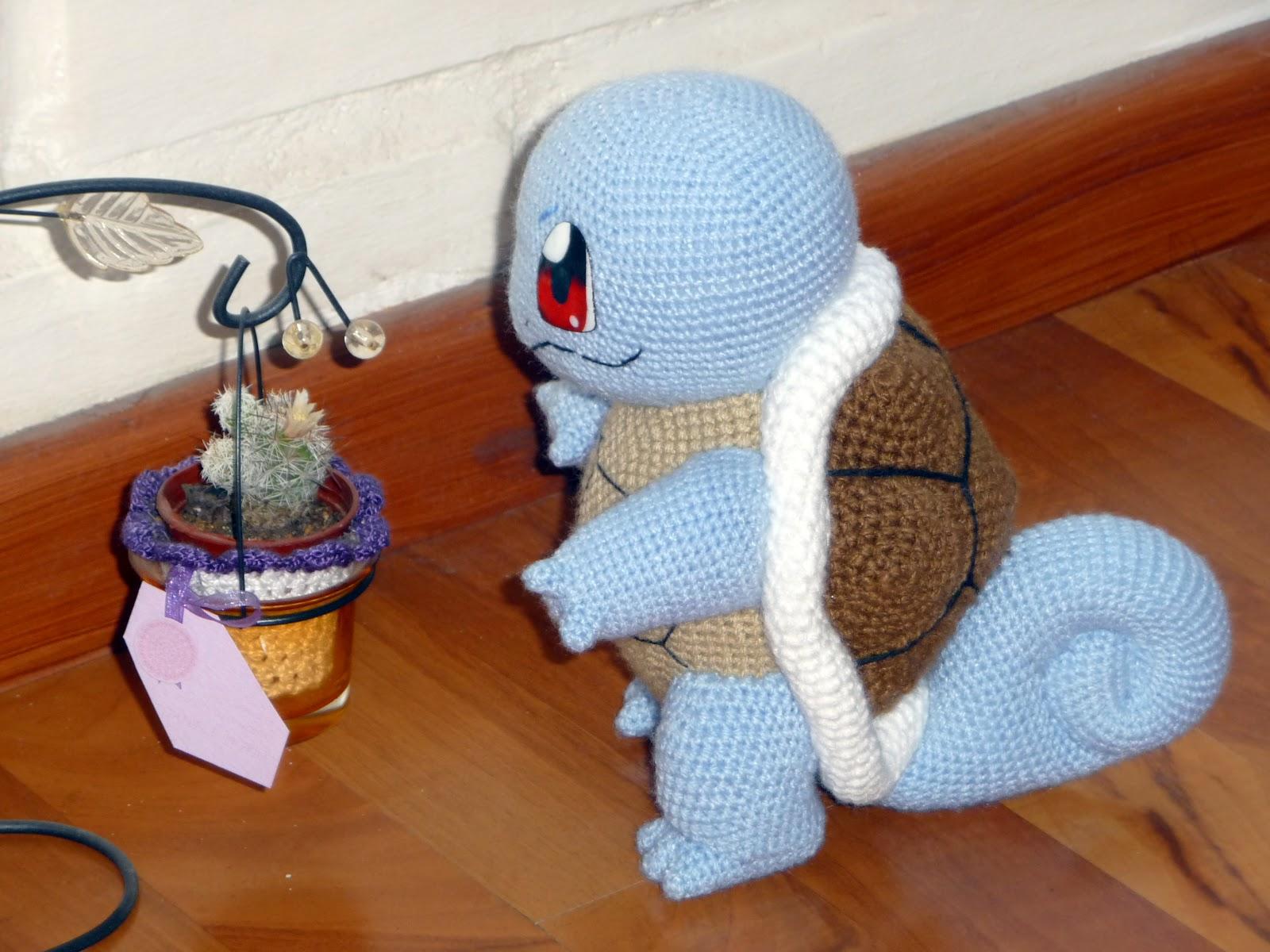 Amigurumi Pokemon Snorlax : Mancita: Amigurumi - Squirtle