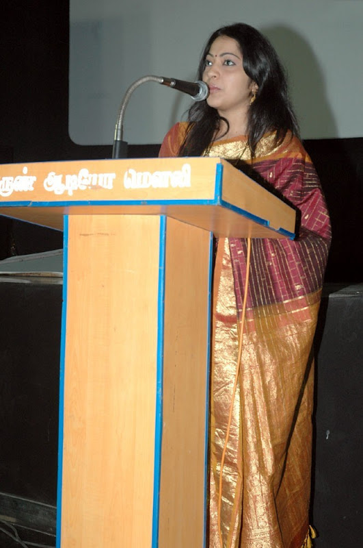 Vijay TV Ramya New Cute Saree Stills At Maharaja Audio Launch wallpapers