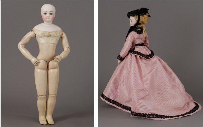 La mode au fil de lhistoire: La garde-robe des poupées à travers le ...