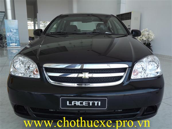 Cho thuê xe 4 chỗ Chevrolet Lacetti EX