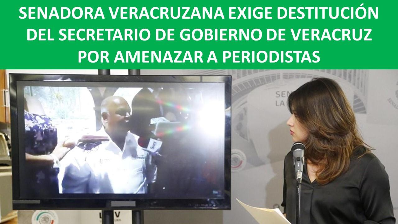 DESTITUCIÓN DEL SECRETARIO DE GOBIERNO