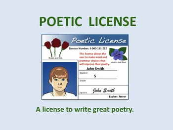 POETIC LICENSE in Placerville Sat. (10/27)