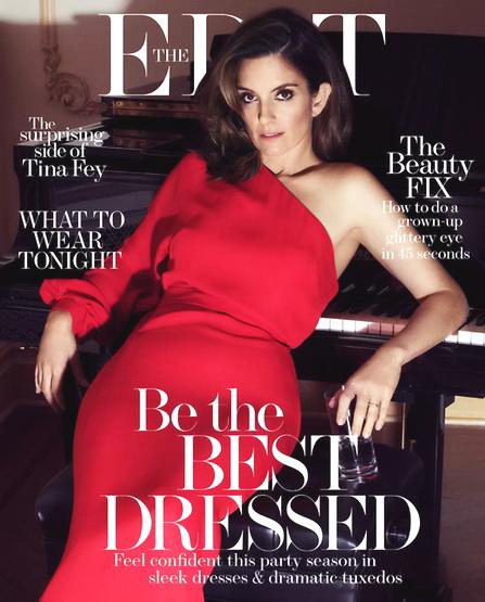 Actress, @ Tina Fey - The Edit Magazine, 2015