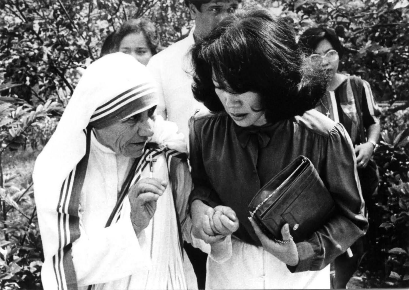 Mother Teresa With Baby Time mother teresa founded
