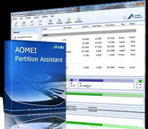 تحميل برنامج AOMEI Partition Assistant 6.0 مع السريال