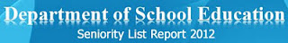 AP Teachers Seniority List 2012