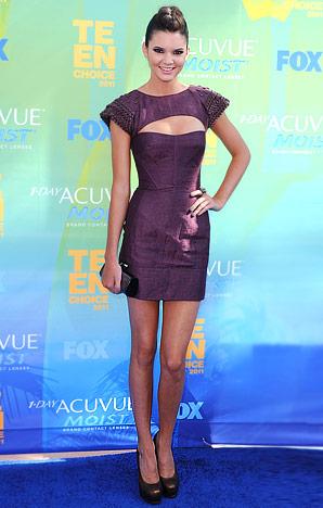 Kendall Jenner Nice on Kendall Jenner In An Aurelia Costarella Dress