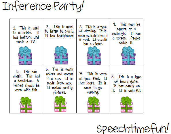 Inference Party!