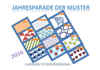 Jahresparade der Muster