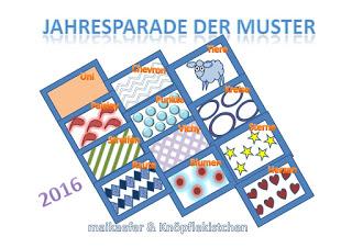 Jahresparade der Muster