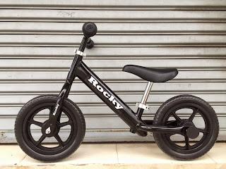 จักรยานฝึกการทรงตัว ขาไถ ROCKY BALANCE BIKE