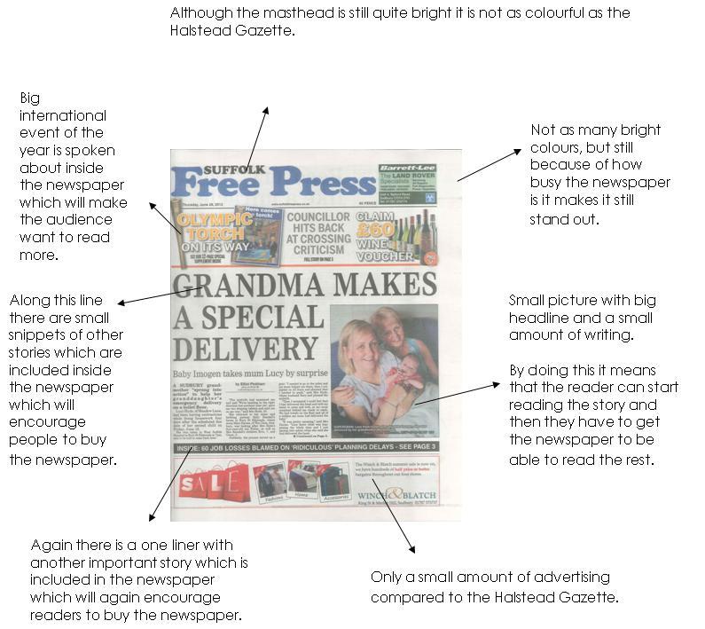newspaper research report
