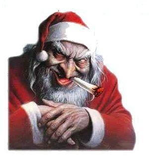 Imagens do Papai Noel Mal