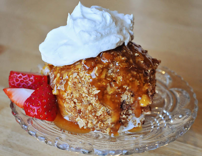 Barefoot and Baking: Fried Ice Cream