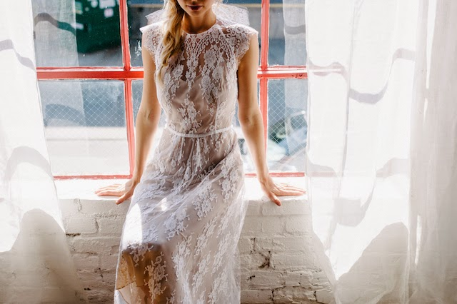 ivy gown from the rue de seine bridal 2015 collection young love