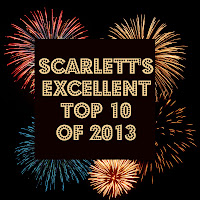 Scarlett's Excellent Top 10 of 2013 from Scarlett's Excellent Adventures