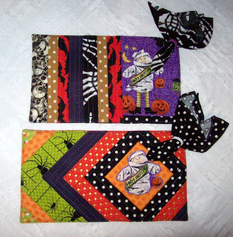 Apron Valley Road: Halloween Mug Rug Sets (Updated To Add