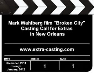 Broken City New orleans Casting Call