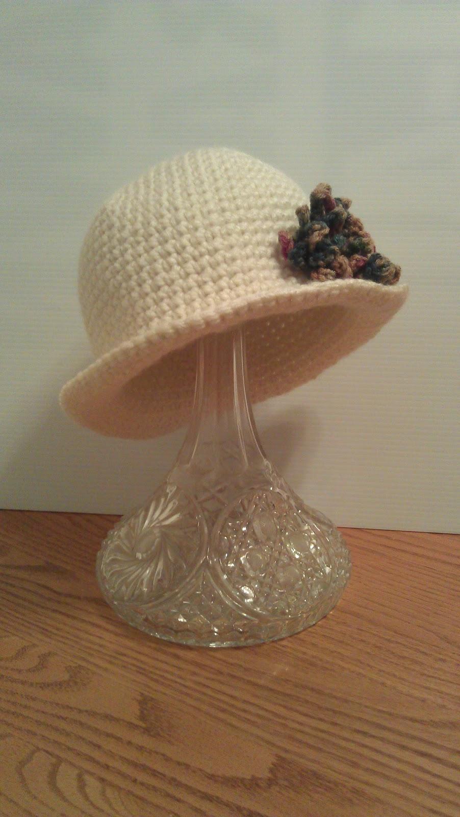 Mini Brim Hat Free Crochet Pattern Artsy Daisy Crochet