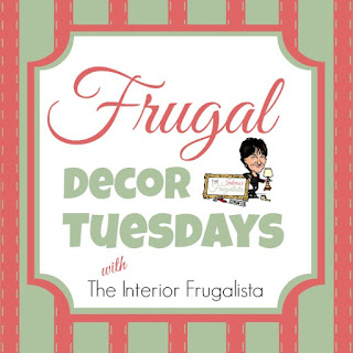 Frugal Decor Tuesdays blog series button