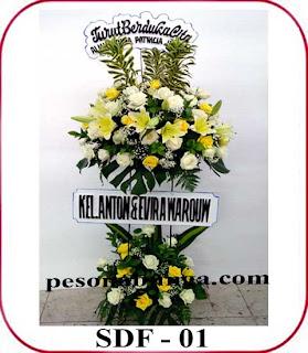 standing bunga duka cita