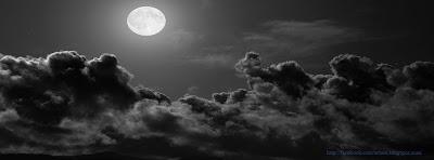 Une couverture facebook timeline originale de la lune