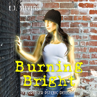 Burning Bright Ivy Granger Psychic Detective Urban Fantasy Audiobook