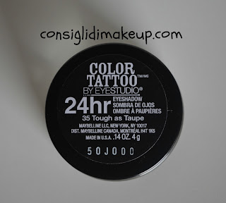 Review: Color Tattoo 24hr Maybelline