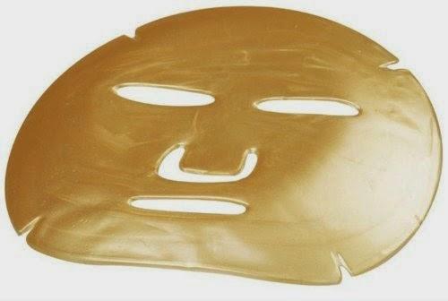 قناع الكولاجين بماء الذهب للوجه