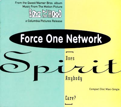 Force One Network - Spirit [Does Anybody Care?] (Boyz N The Hood)-Digipak-CDM-1991