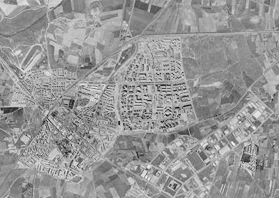 Abuelohara Leganes bn Vista aerea 1975